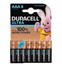 Duracell Baterie Ultra Power AAA 8pack