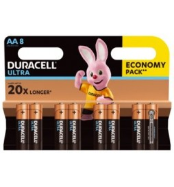 Duracell Baterie Ultra Power AA 8pack