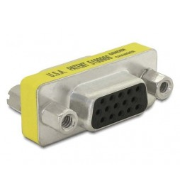 Delock Adapter VGA(15F)>VGA(15F)