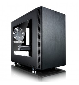 Fractal Design Define Nano S Black Window 3.5HDD|2,5SSD ITX