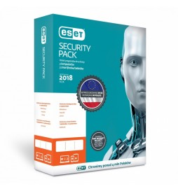 ESET Security Pack 3PC+ 3Sm Kon 2Y   ESPK2Y6D