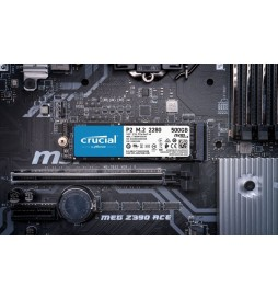 Crucial Dysk SSD P2 500GB M.2 PCIe NVMe 2280 2300 940MB s