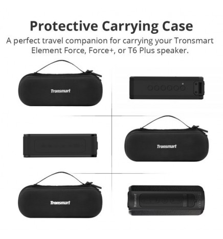 Etui na głośniki Tronsmart (Element Force, T6 Plus), czarne