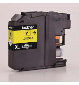 Brother oryginalny ink | tusz LC525XLY, yellow, 1300s, Brother DCP J100, DCP J105, MFCJ200