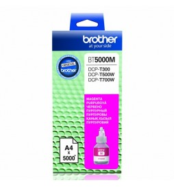 Brother oryginalny ink | tusz BT5000M, magenta, 5000s, Brother DCP T300, DCP T500W, DCP T700W