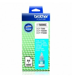 Brother oryginalny ink | tusz BT5000C, cyan, 5000s, Brother DCP T300, DCP T500W, DCP T700W