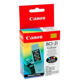 Canon oryginalny ink | tusz BCI21C, color, blistr, 120s, 0955A351, Canon BJC4000, 2000, 4100, 4400, 4650, 5500