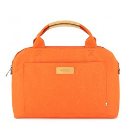 Torba na  notebook 13, Polaris Orange, pomarańczowa, poliester, Golla